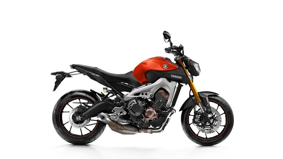 Yamaha Mt Blazing Orange