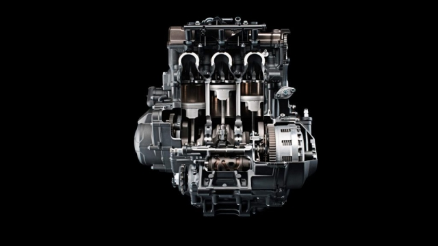 Yamaha MT 09 2014 Motor