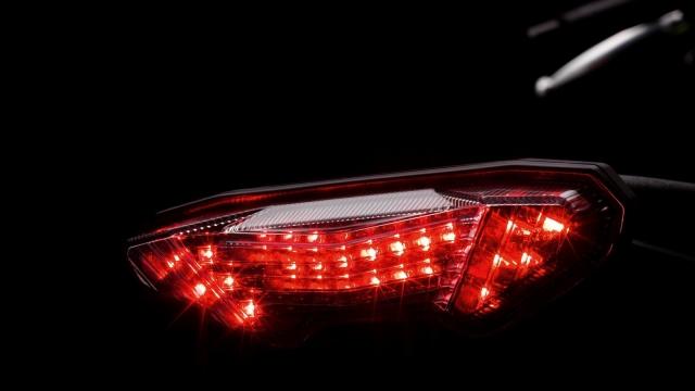 Yamaha MT 09 2014 Rücklicht